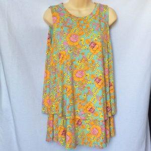 Agnes&Dora Floral print summer Flowy Dress 1 Size